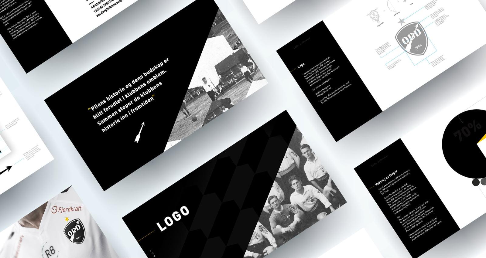 Fjuz Kommunikasjon lager profil for Odd bilde av Profilmanaul slides