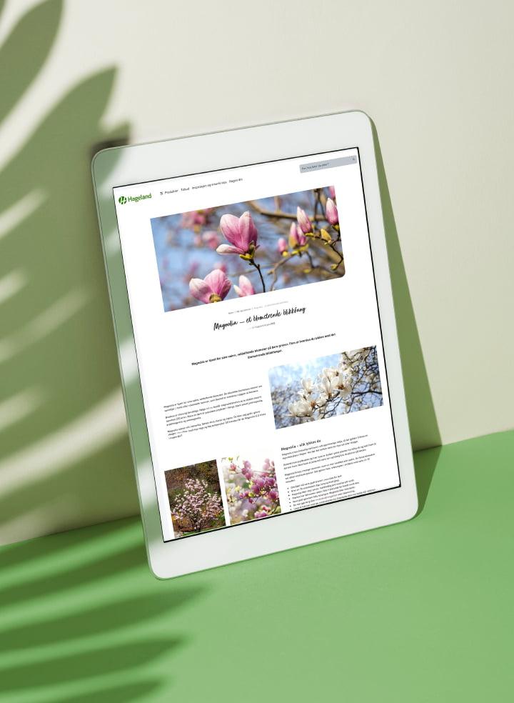 hageland-nettside sho´case mobil fra fjuz II